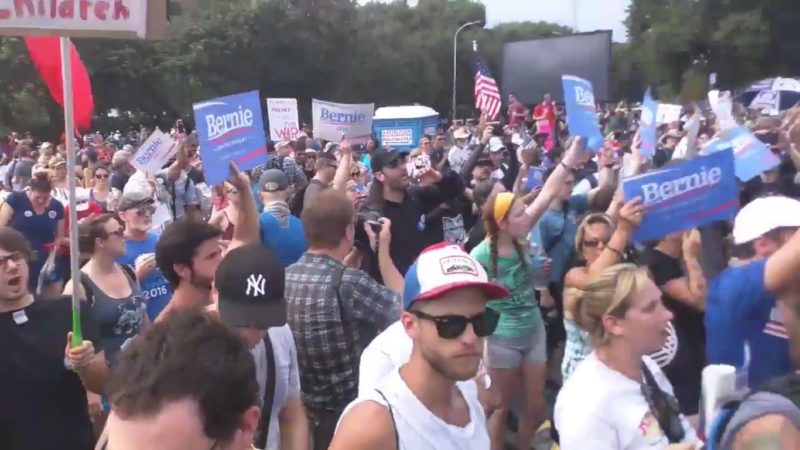 #BernieOrBust Proves One Thing — White Liberals Feel Entitled To Ideological Purity