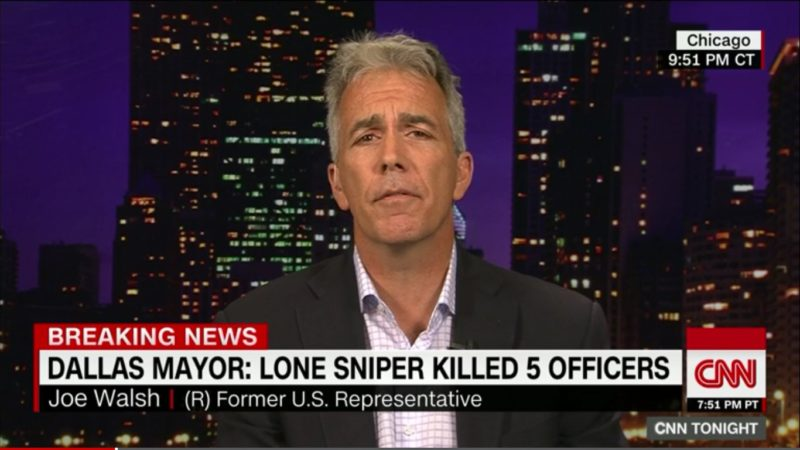 CNN Takes Heat For Giving Joe Walsh Airtime After He Called For Obama's Killing