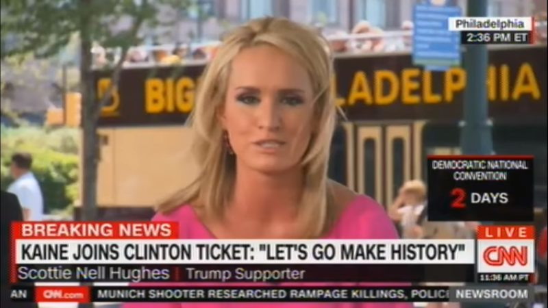 Scottie Nell Hughes: I Don't Want To Brush Up On Dora The Explorer To Watch DNC