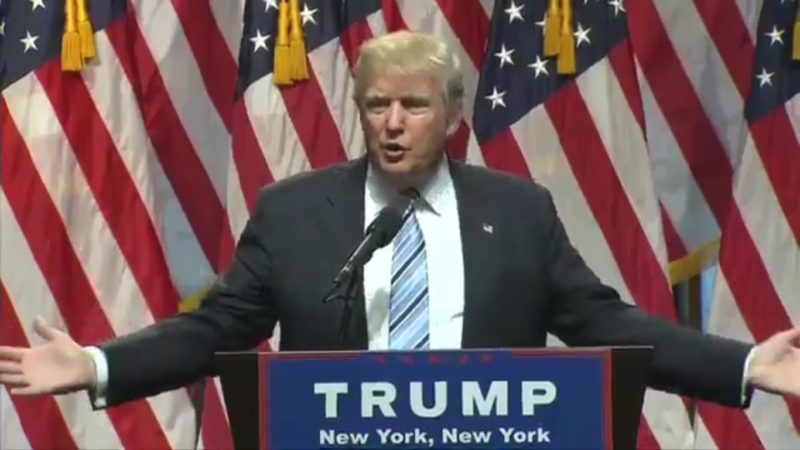 Trump Introduces His Running Mate The Only Way He Knows How — By Talking About Himself