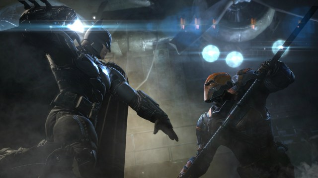 Batman and Deathstroke in Arkham Origins [Image: WB Games, DC Comics]