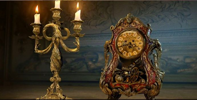 Lumiere and Cogsworth [Image: Walt Disney Studios]