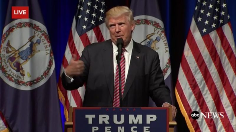 """""""Get That Baby Out Of Here!"""": Donald Trump Actually Kicks A Baby Out Of Rally"""