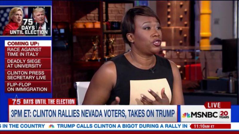 MSNBC's Joy Reid: The Alt-Right Is Just A Dressed Up, Next Generation Version Of The KKK
