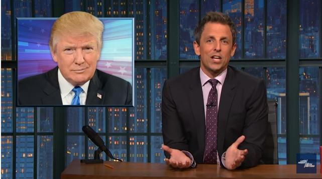 Seth Meyers: Katrina Pierson Is Like 'A Zookeeper When The Monkeys Start Throwing Their Shit'