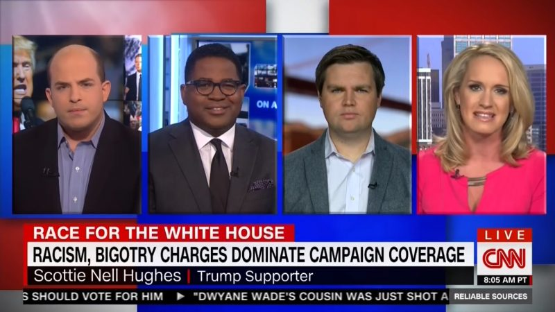 CNN's Scottie Nell Hughes: Hillary's The Real Bigot For Saying The Alt-Right Is Racist