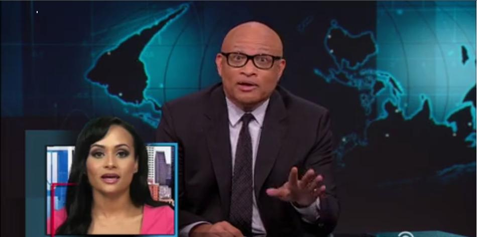 Larry Wilmore Blasts Trump's 'Spokesgoblin' Katrina Pierson 'As The Bullshit Pours Out Of Her Mouth'
