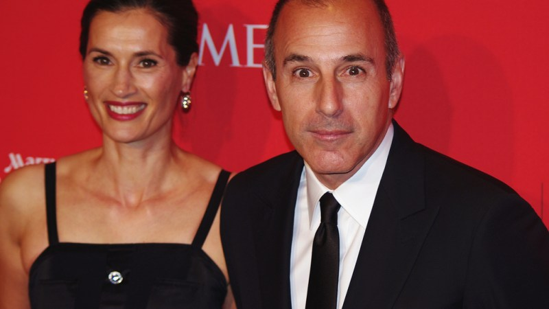 After 20 Years, No One Should Be Surprised By Matt Lauer's Blatant Misogyny