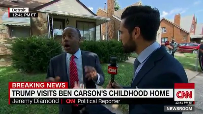 """""""Oh! My Luggage!"""" Ben Carson Flees During Live CNN Interview To Find His Bags"""