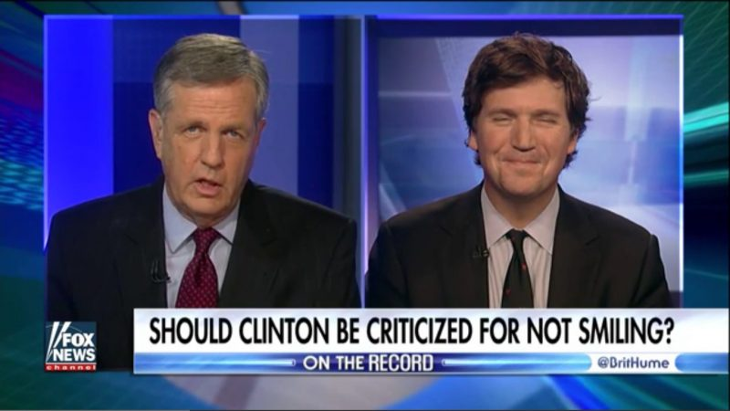 Only On Fox: Two White Conservative Guys Debate Whether Hillary Should Smile Or Not