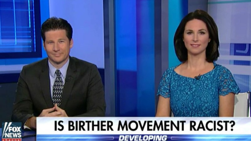 Three White People On Fox News Come To Conclusion That Birtherism Isn't Racist