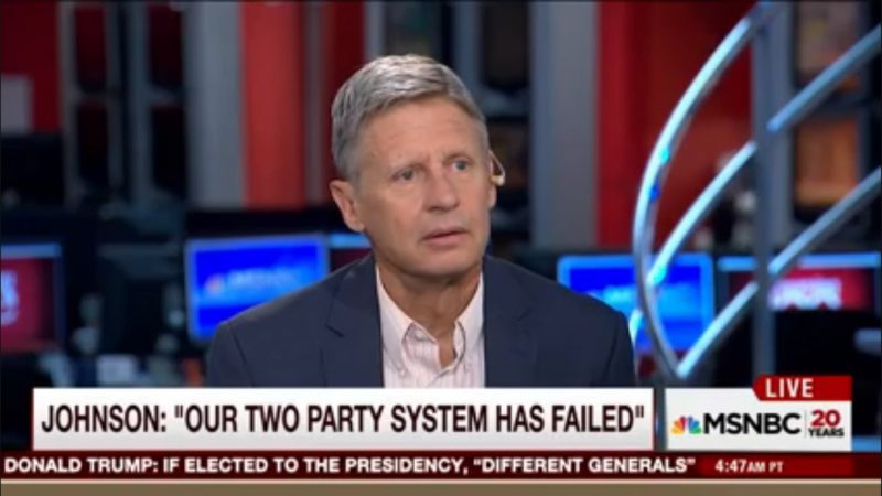 """""""You're Kidding"""": Morning Joe Panel Reacts To Gary Johnson Asking """"What Is Aleppo?"""""""