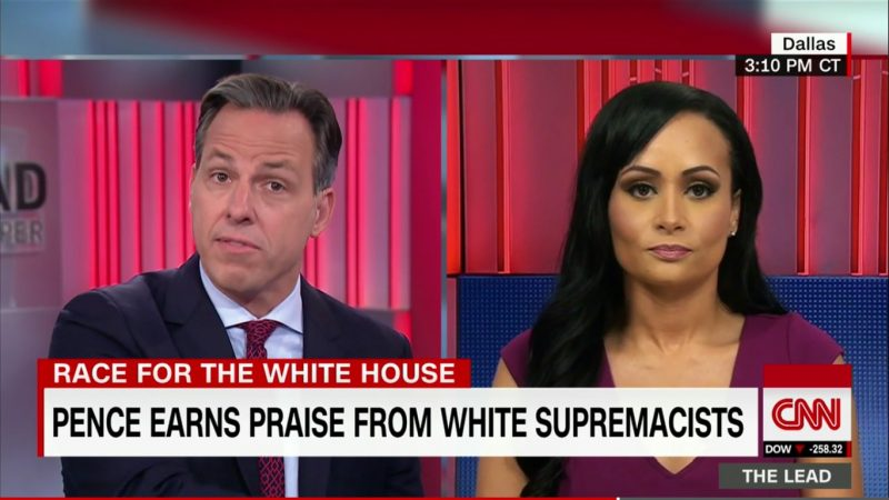 """Jake Tapper Fact-Checks Katrina Pierson: """"That Has Never Happened In The History Of The World"""""""