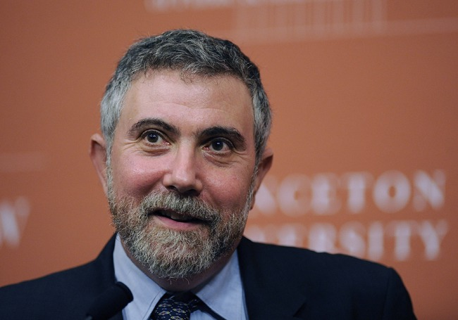 """New York Times' Paul Krugman Trolls Own Paper Over """"Bizarre Coverage"""" Of Clinton Foundation"""
