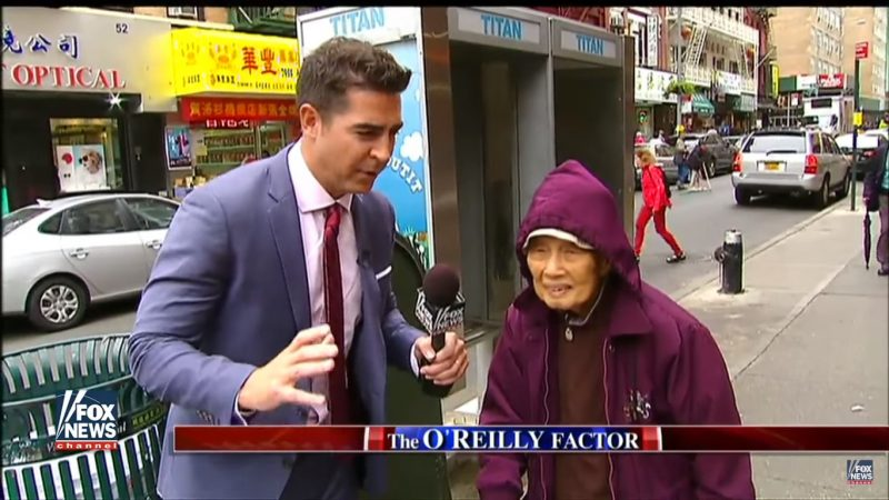 Fox News Refuses To Comment On Jesse Watters' Blatantly Racist Chinatown Segment