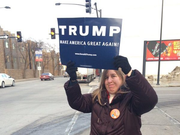 Iowa Woman Arrested After Voting For Donald Trump Twice