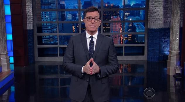 Stephen Colbert Mocks Trump With Russian Takeover Of The Late Show