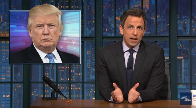 Seth Meyers: Trump Wanted Me To Publicly Apologize For Making Fun Of Him At WHCD