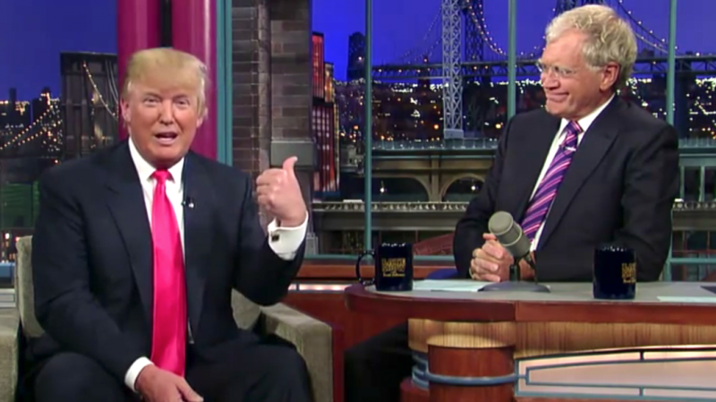 David Letterman: Trump Is Crazy And We Need To Protect Ourselves