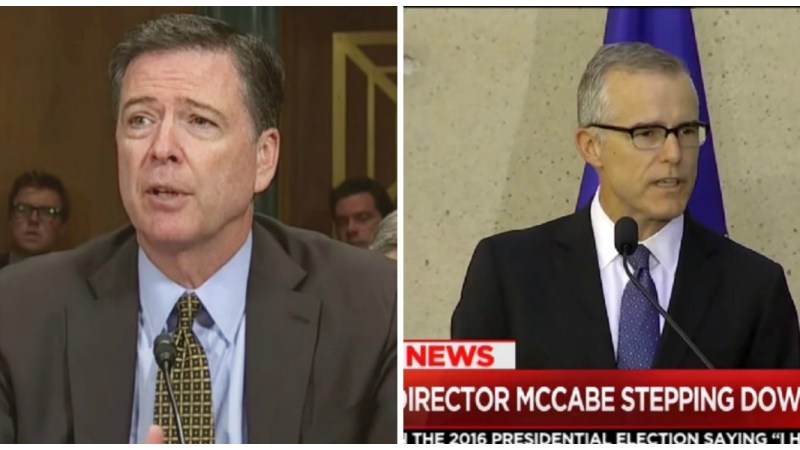 The Fire and Fury of Comey and McCabe