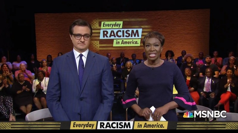 MSNBC's 'Everyday Racism In America' Town Hall Draws Middling Ratings Tuesday Night