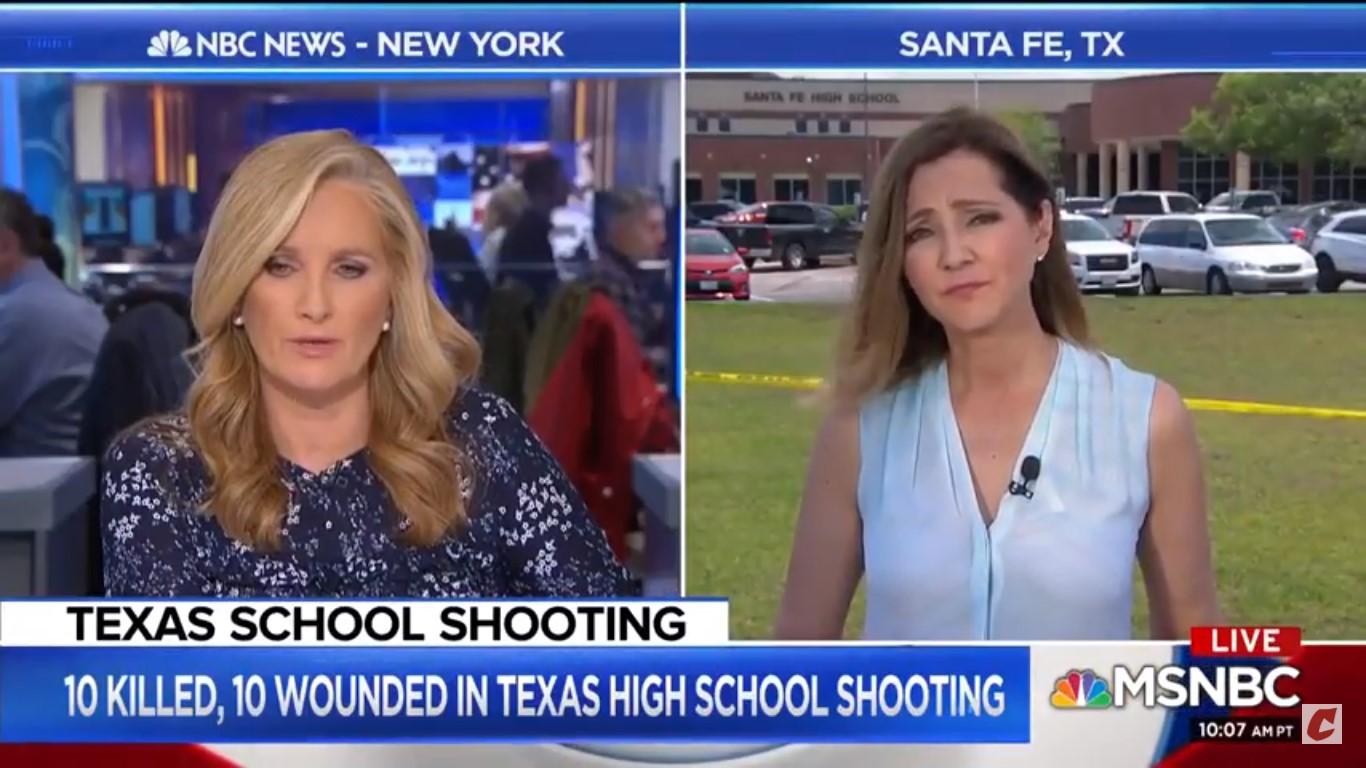 MSNBC's Alex Witt: 'Prayer Hasn't Seemed To Work So Far' In Stopping School Shootings