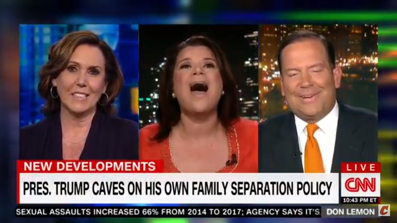 Ana Navarro Laughs At Trump Adviser After POTUS Caves On Separation Policy: 'It's Hilarious!'