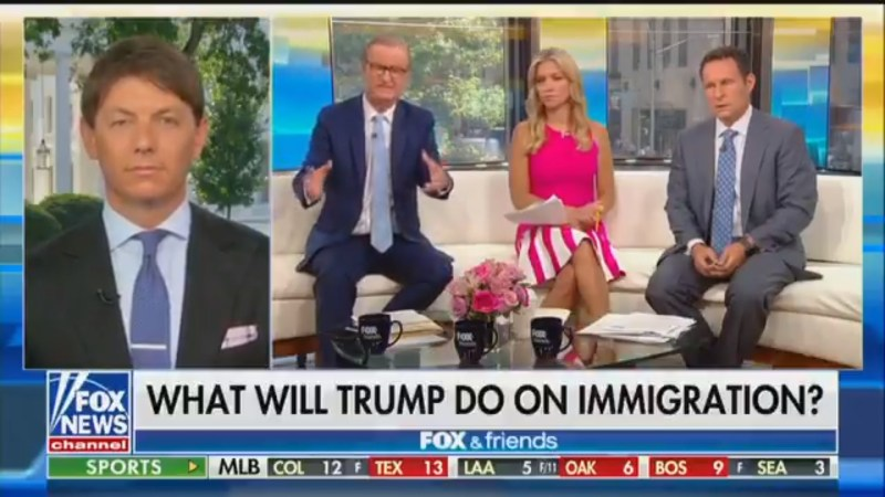 Fox's Steve Doocy Objects To Use Of Term 'Cages': They're 'Walls' Made Of 'Chain-Link Fences'