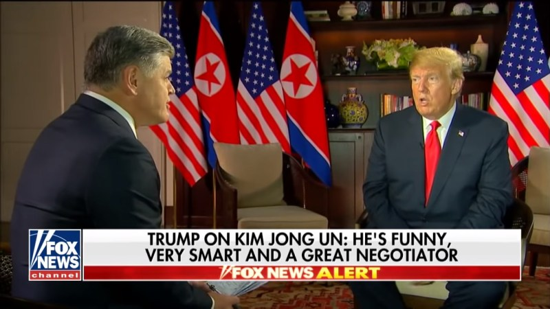 Hannity's Trump Interview Attracts 4.1 Million Viewers, Easily Tops Cable News Tuesday Night