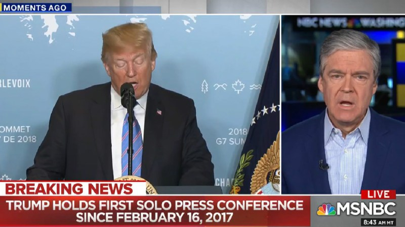 John Harwood Expresses Concern For Trump's Mental Well-Being: 'He Did Not Look Well To Me'