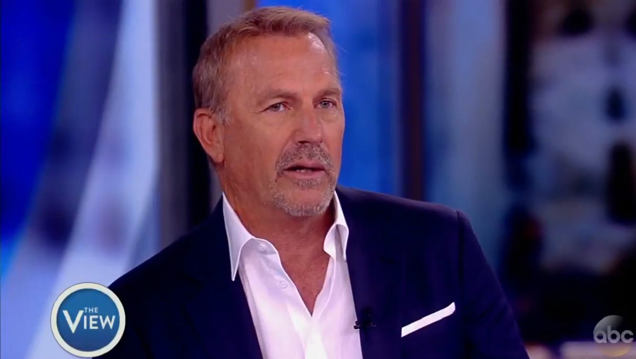 Kevin Costner On Migrant Children Crisis: 'I'm Not Recognizing America Right Now'