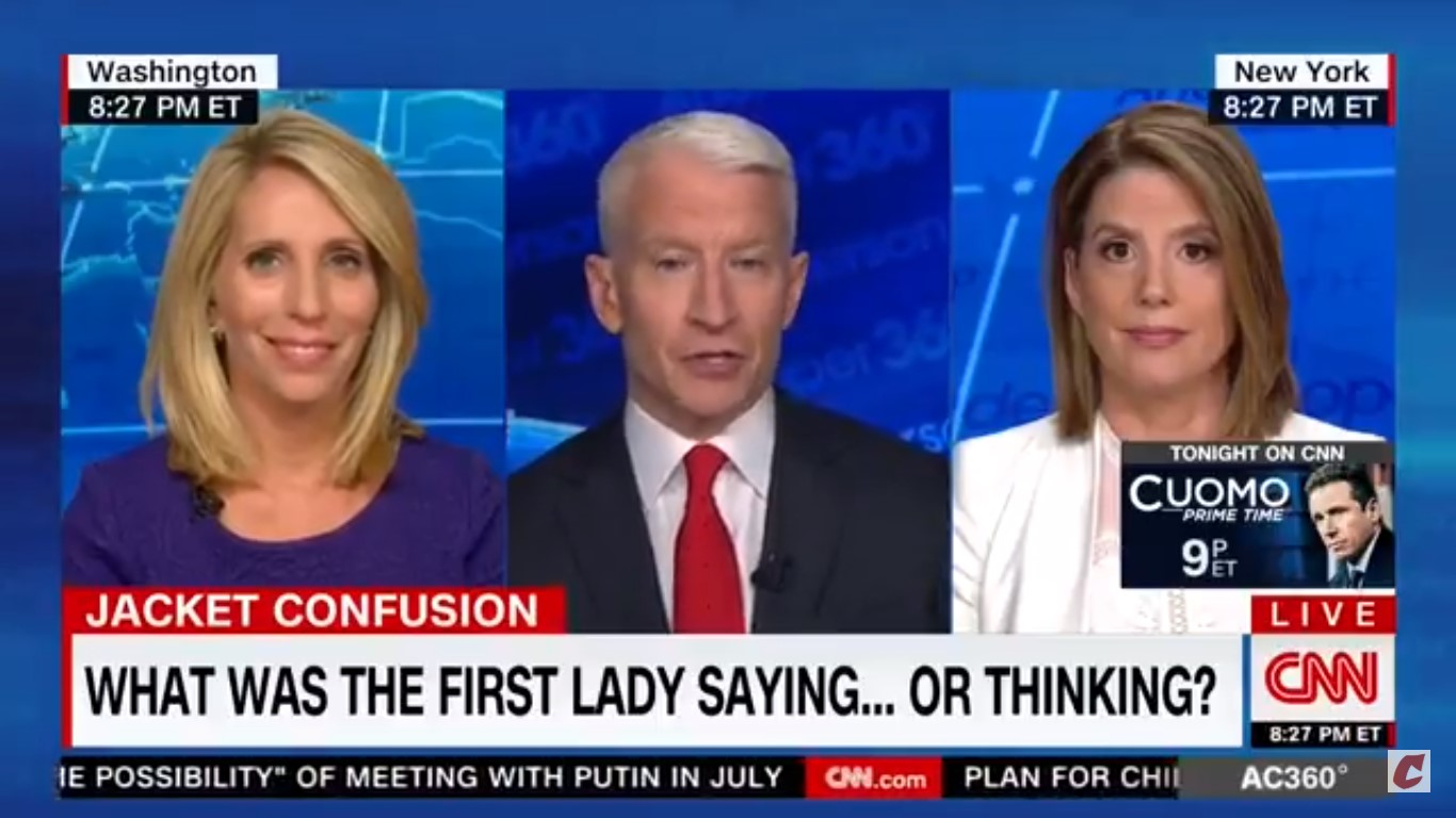 CNN's Kirsten Powers Shreds Melania: Her Jacket 'Should Just Say Let Them Eat Cake'