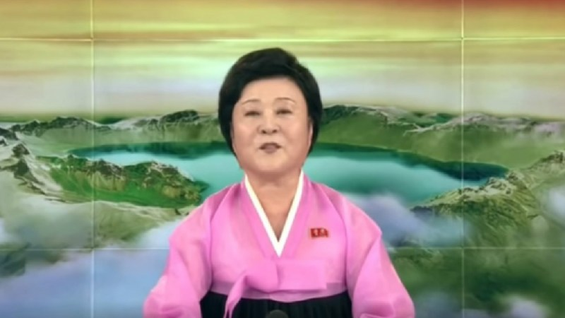 Trump Joked That North Korean State TV Anchor Should Work For American Media
