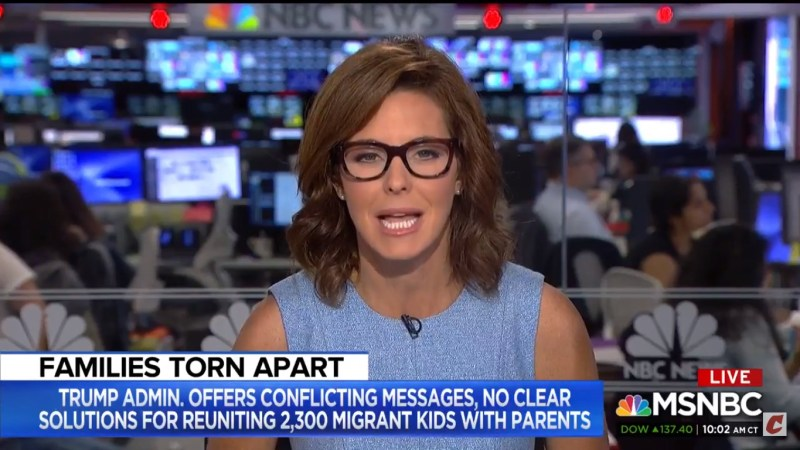 MSNBC's Steph Ruhle Blasts Fox's Kilmeade Over 'Ignorant' Migrant Child Remarks: It's 'Propaganda'