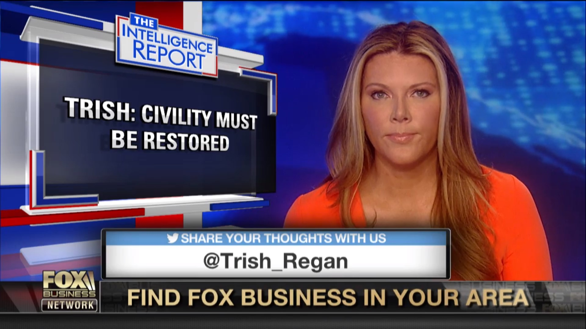 Trish Regan Moving To Primetime As Fox Business Revamps Lineup