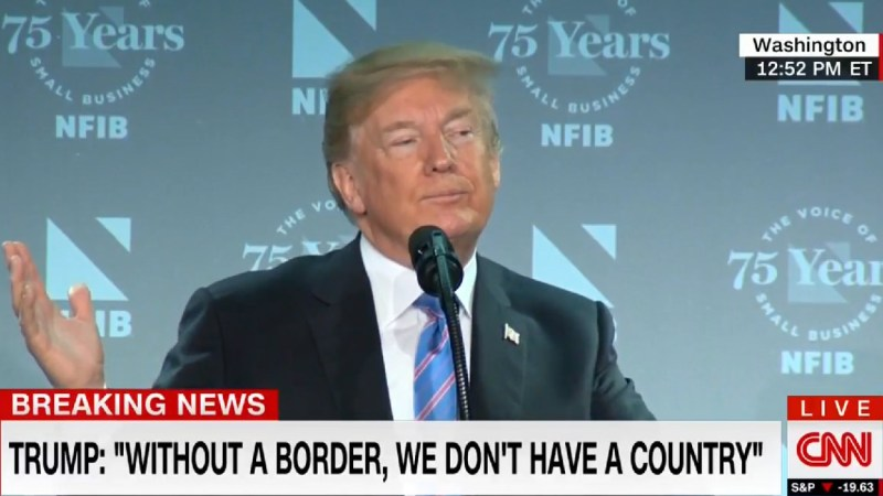 Trump: 'The Fake News Media' Is Helping Human 'Smugglers And Traffickers Like Nobody Would Believe'