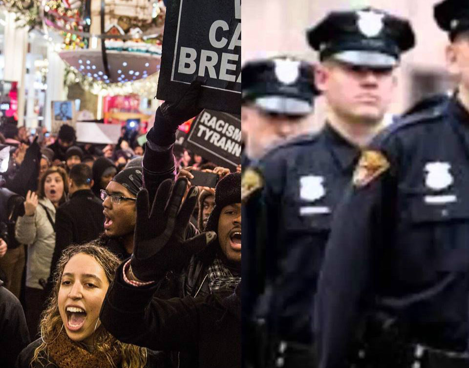 Police State And Social Justice Bingo: Interaction. Altercation. Escalation. Reaction/Declaration. Free Space.