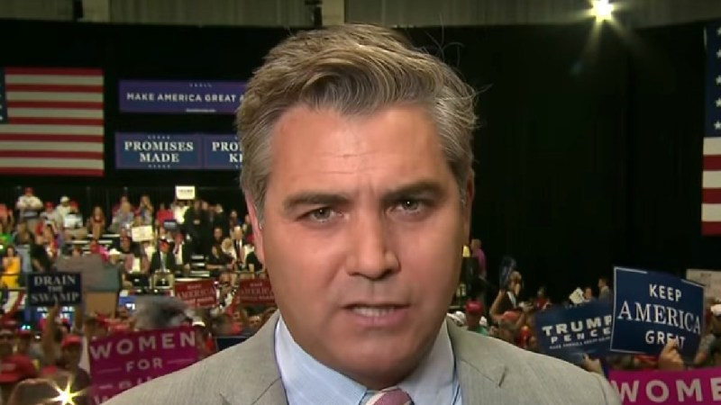 Acosta Tears Into 'Propagandist For Profit' Hannity: He's 'Injecting Poison' Into Our 'Political Bloodstream'