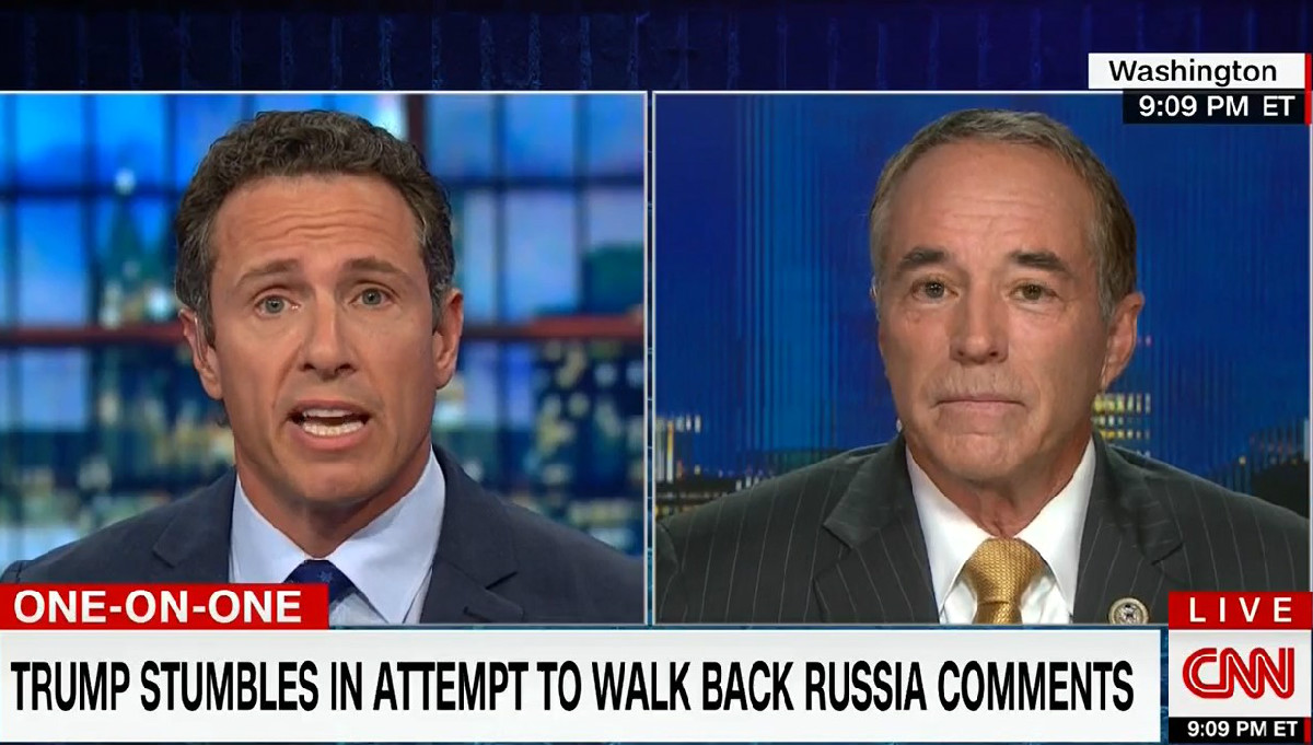 GOP Rep Hilariously Sets Himself Up During CNN Segment: Trump 'Does Not Mince Words'