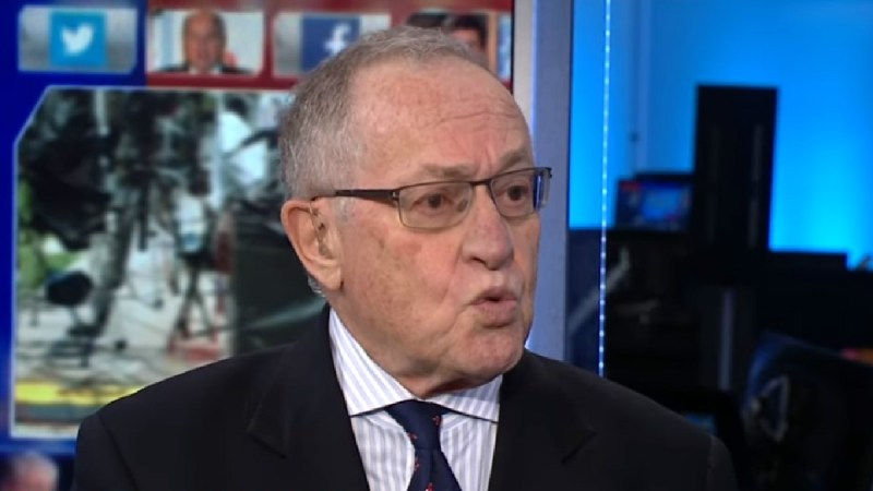 Sour Grapes: Alan Dershowitz Whines His Friends In Martha's Vineyard Are Shunning Him