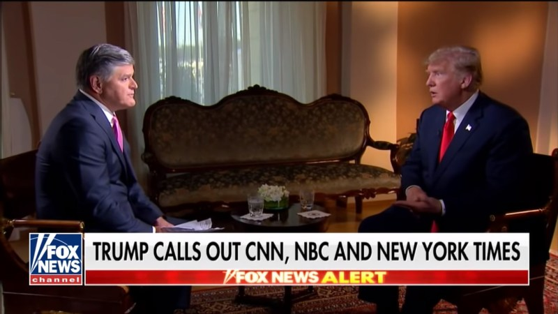 White House Insiders Suggest Trump Is Coordinating With Hannity On Show's Programming
