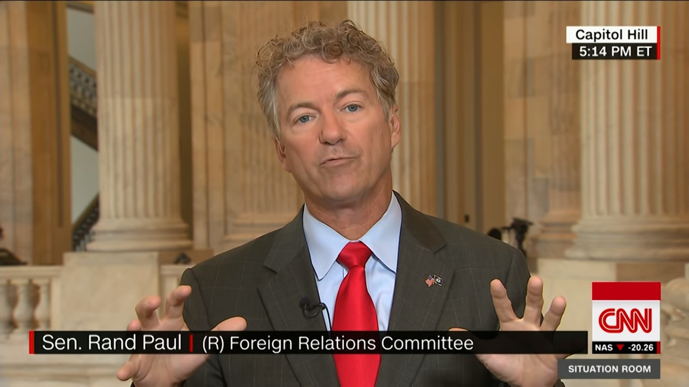 Trump Thanks Rand Paul For Having His Back On Disastrous Putin Summit: 'You Really Get It!'