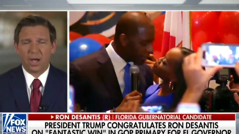 Ron DeSantis Says Florida Voters Shouldn't 'Monkey This Up' By Electing Andrew Gillum