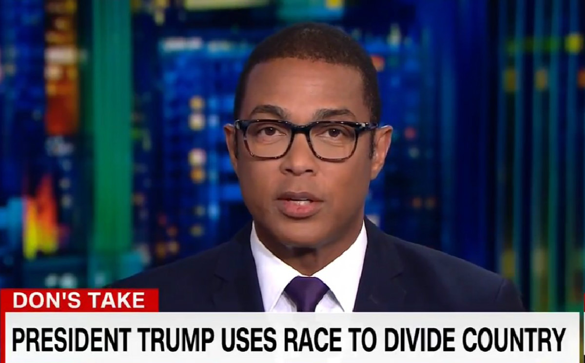 Don Lemon Delivers Impassioned Rebuke Of Trump: 'This President Traffics In Racism'