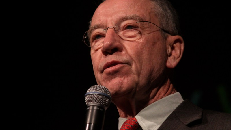 Chuck Grassley: Democrats Should Join Me In Confirming Brett Kavanaugh To SCOTUS