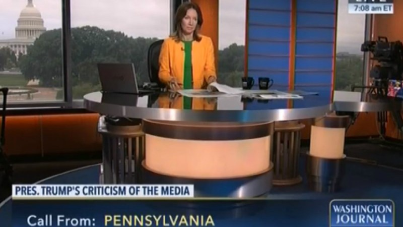 C-SPAN Host Has No Reaction To Caller's Threat To Shoot Don Lemon And Brian Stelter [UPDATE]