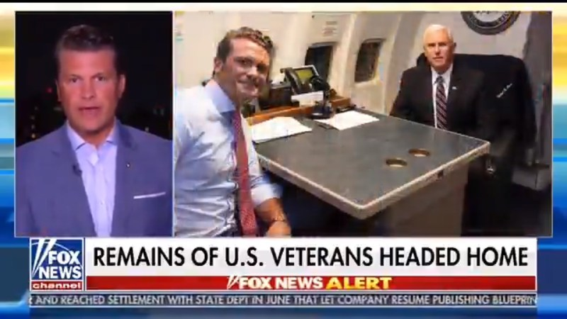 Fox's Pete Hegseth: I Had 'Off-The-Record' Conversation With Pence, Here's What He Said (UPDATE)