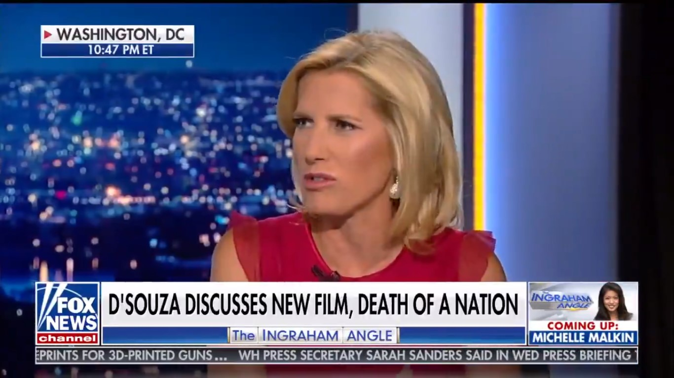 Laura Ingraham Says She 'Literally Had Never Heard' Of Richard Spencer 9 Months After Tweeting About Him