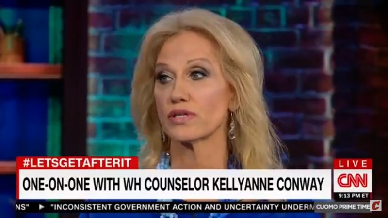 Kellyanne Conway: 'CNN Interfered In The Election' By Reporting On The Access Hollywood Tape