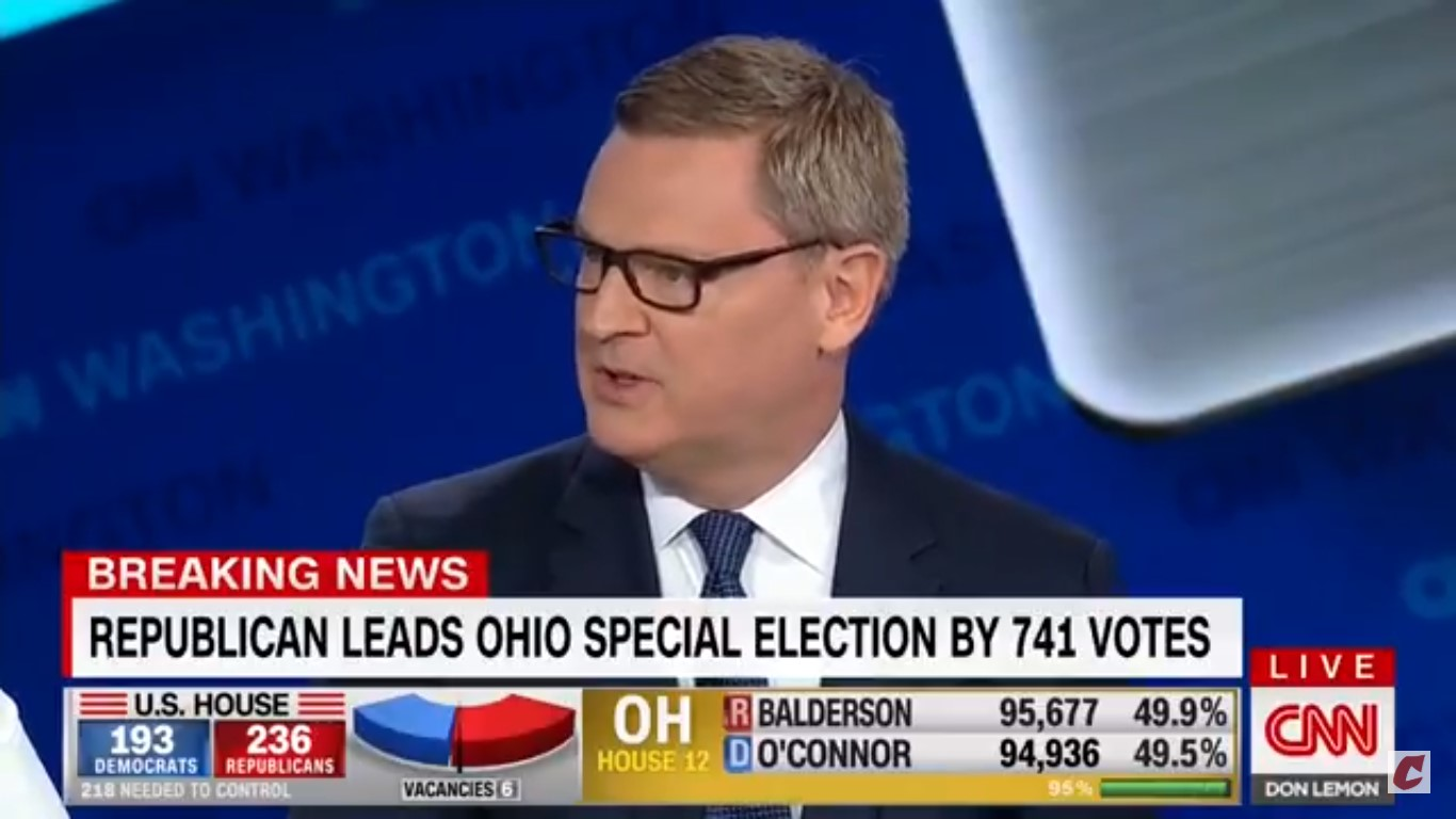 Republican CNN Pundit: 'Other Networks Are Telling' GOP Voters 'Everything's Fine — It's Not'